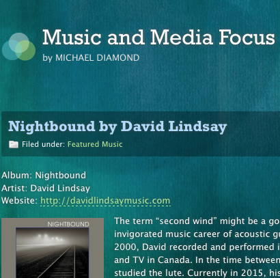 Nightbound - Featured Article on Music and Media Focus