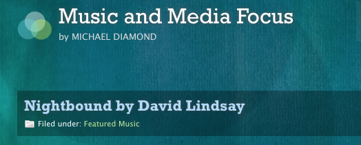 David Lindsay Interview with Music and Media Focus