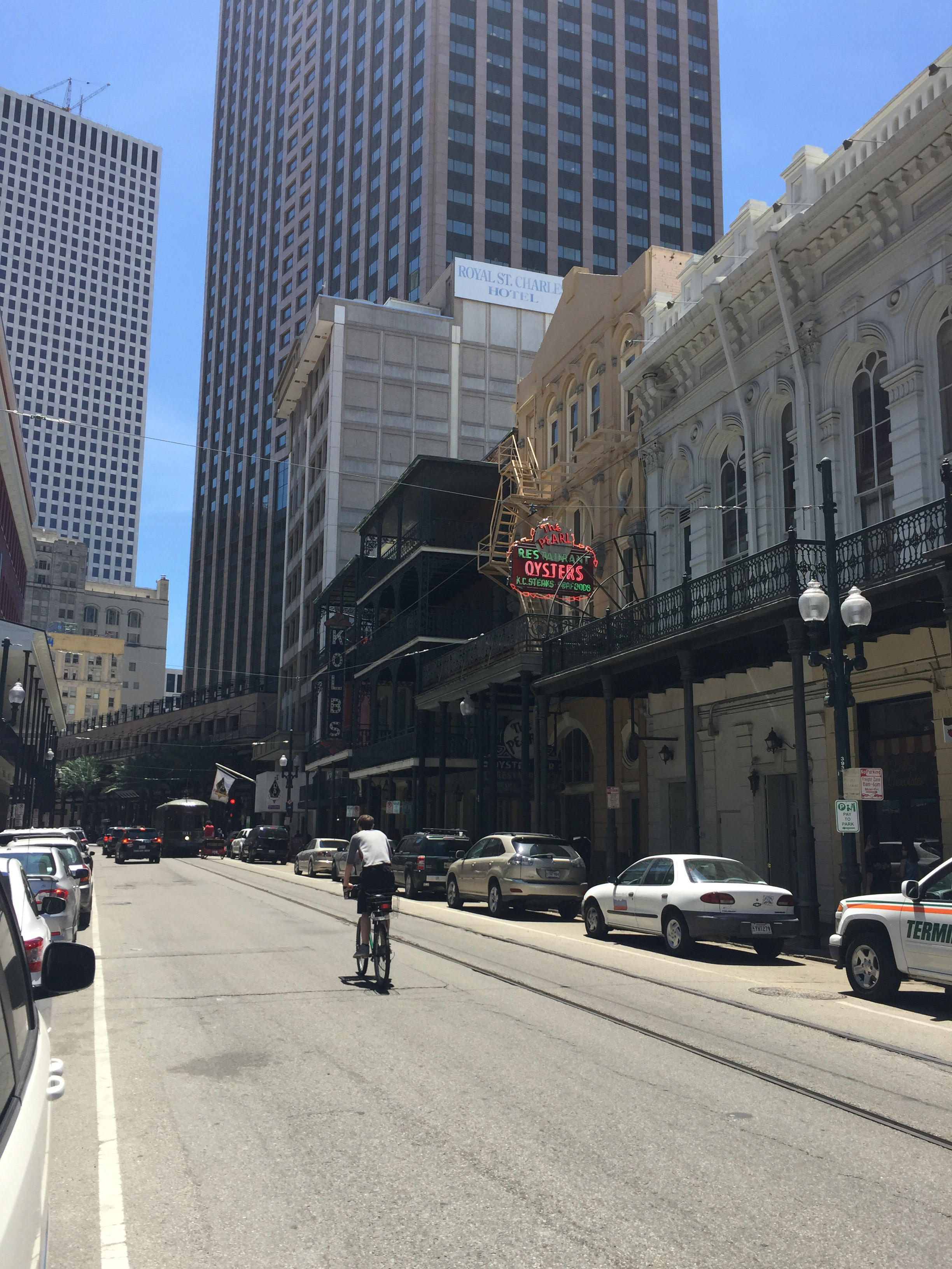The contrasting spaces of New Orleans.....